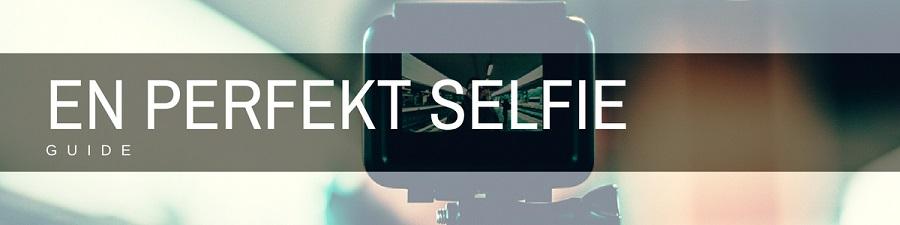 en perfekt selfie bild